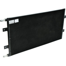 Condensers, air conditioning parts, heavy duty trucks